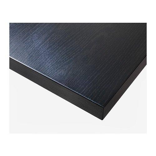Ikea LINNMON/ Color Negro y marr/ón 100/x 60/cm /Table Top