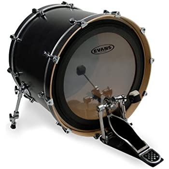 evans emad2 clear bass drum head 20 inch musical instruments. Black Bedroom Furniture Sets. Home Design Ideas