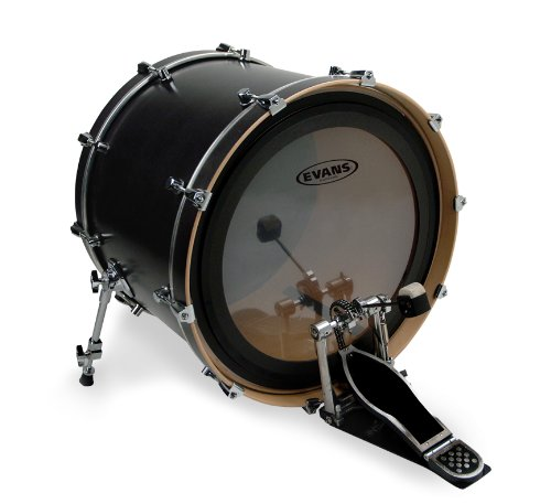 [Evans GMAD Clear Bass Drum Head, 18 Inch] (Evans Emad Coated Bass)