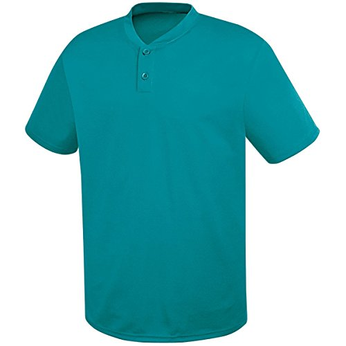 HighFive Youth Two-Button Essortex Jersey Teal ()