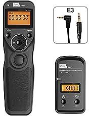 Wireless Shutter Release Remote for Canon, Pixel TW-283 E3 Shutter Remote Control Intervalometer for Canon Cameras, Replaces RS-60E3