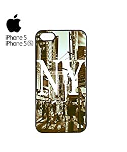 New York NY Retro Mobile Cell Phone Case Cover iPhone 5&5s Black
