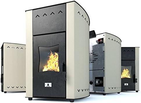 Estufa caldera de pellets Hidroestufa de pellets Eco Spar Modelo Hydro Auriga B Salida de calor 25kW