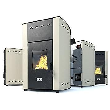 Estufa caldera de pellets Eco Spar modelo Hydro Minima Salida de calor 12kW: Amazon.es: Bricolaje y herramientas