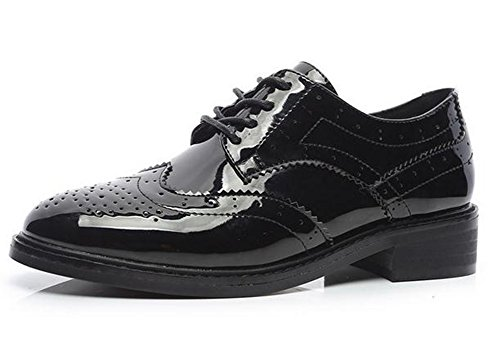 YTTY Bullock Shoes 35 black Shoes YTTY black Bullock SBnw5qZ