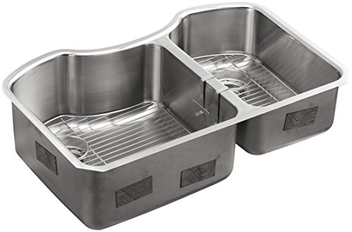K 3845 NA Undermount Double Bowl Kitchen Stainless product image