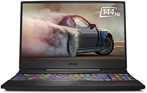"""MSI GL65 Leopard 10SFK-062 15.6"""" FHD 144Hz 3ms Thin Bezel Gaming Laptop Intel Core i7-10750H RTX2070 16GB 512GB NVMe SSD Win 10"""