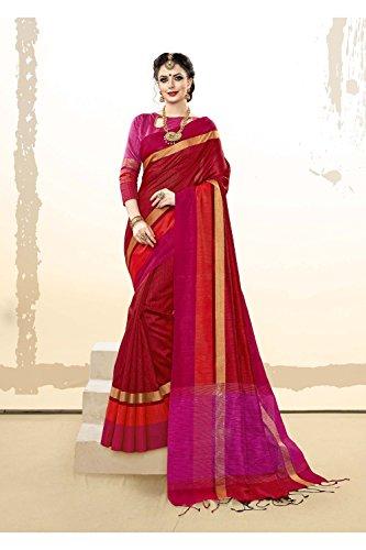Wedding Traditional Red Women Wear Party Sari Da Indian Sarees 10 Facioun Designer for wFgWqCBxX