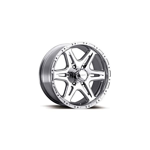 Ultra Wheel 208p Badlands Silver Wheel With Polished