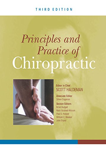 Principles and Practice of Chiropractic (3rd 2012) [Haldeman]