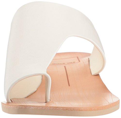 Dolce Vita Kvinnor Hazle Slide Sandal Off Vitt Läder