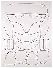 Anself Silicone Pad Set Fine Lines Removal Patches Face Sticker Reusable Full Set (With Regular Packaging)