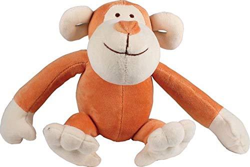 Organic Simply Cotton Fido - Simply Fido Organic Plush 10-Inch Regular Pet Toy, Oscar Monkey