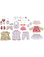 Baby Annabell Zapf Creation 703366 Poppen adventskalender voor kinderen met poppenkleding en -accessoires, 24 verrassingen