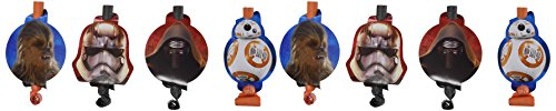 Ideas Some 3 Costume Halloween (Amscan 8 Count Star Wars Episode Vll Blowouts,)
