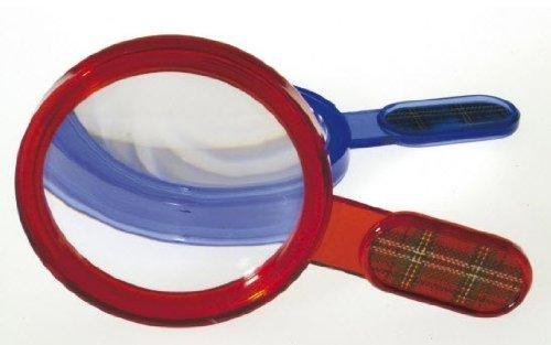 Partynelly® 6x Lupe, Detektivlupe, Kinderlupe Kinder Kindergeburtstag Geburtstag Mitgebsel Geschenk Sherlock Holmes Detektiv Flo Lupen Ausstattung