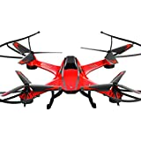 RC Quadcopter, Gotd A8 4CH 6-Axis Gyro 0.3MP Camera RC Quadcopter 360° Flips Aircraft Drone Toy, Red