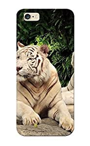 lintao diy High Quality Tpu Case/ White Tigers RmXLiTl4907oykAz Case Cover For Iphone 6 Plus For New Year's Day's Gift