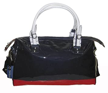 Little Company Dutch Bag DU05 05 2 Changing Bag Marine Blue with Red