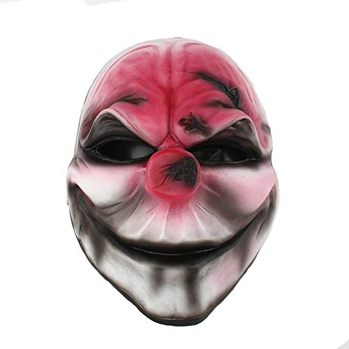 Festival Mask Halloween Masquerade Party Character Dress Up Resin Mask Harvest Day 2 Series New Red Head Cos mask Costume Mask]()