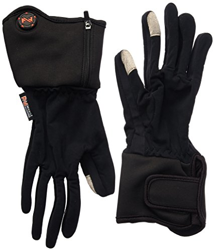 Mobile Warming Unisex-Adult Heated 7.4v Gloves Liner (Black, Small) (Venture Mobile)