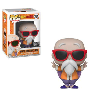 - POP: Animation Pop! Master Roshi (peace sign) exclusive