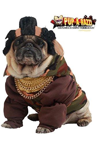 [8eighteen DJ Master Mr. T Pity The Fool Pet Dog Costume] (Mr T Costumes)