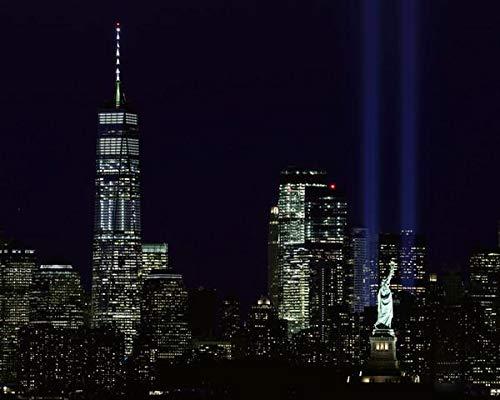 - New York City 9/11 Memorial Tribute in Light 8