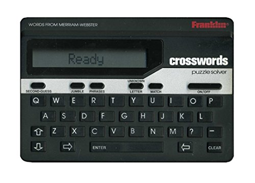 Electronic Crossword Puzzle Dictionary - Franklin Crosswords Puzzle Solver ( CW-50 )