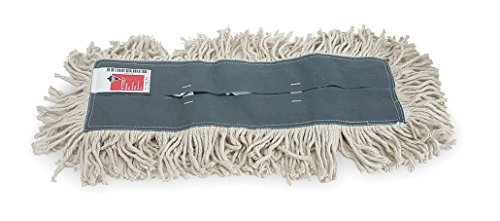 Tough Guy Dust Mop, White, Gray