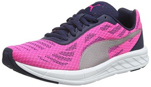 Puma Meteor - Zapatillas Unisex Niños Rosa - Pink (Pink Glo-puma Silver 03)