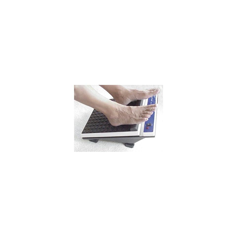 Maxi Rub Deep Vibration Foot Massager Platform   Heavy Duty Foot Massage Health & Personal Care