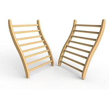 JNH Lifestyles 2SBR1 Ergonomic S-Shape Backrest (2 Pack)