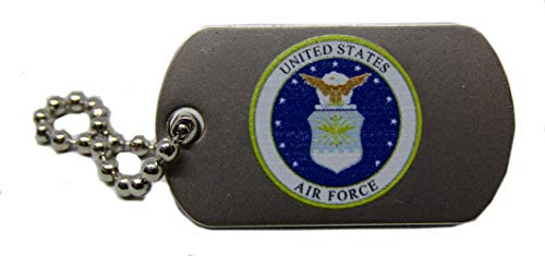 Marquette Chain - ALBATROS Pack of 24 United States Air Force Hat Cap Lapel Pin/Key Chain for Home and Parades, Official Party, All Weather Indoors Outdoors