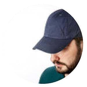 alfombrilla de ratón Oscura tapa azul en la cabeza listo para la marca. - ronda - 20cm