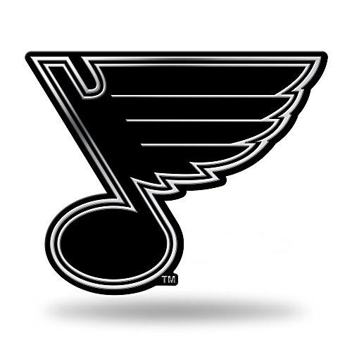 Nhl Hockey Car - Rico NHL St. Louis Blues Chrome Finished Auto Emblem 3D Sticker