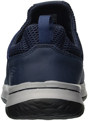 Skechers Heren Relaxed Fit-delson-brewton Sneaker Blue