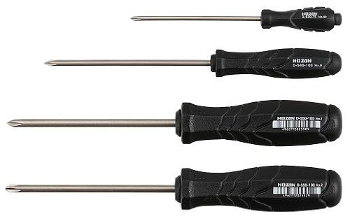 Hozan JIS-4 JIS Screwdriver Set (NEW 3rd. Gen)