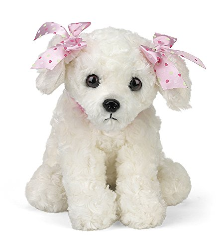 "sh Stuffed Animal White Puppy Dog 13"" ()"
