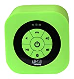 Adesso Bluetooth 3.0 Waterproof Speaker - Retail Packaging - Green