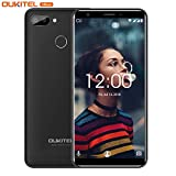"Unlocked Cell Phones, OUKITEL C11S 3GB/16GB ROM 5.5"" 18:9 Display Android 8.1 Mobiles"