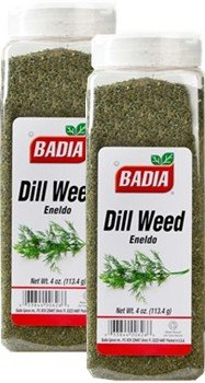 Badia Dill Weed 4 oz Pack of 2