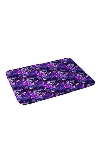 LACOP-Store Welcome to The Jungle Palm Purple Door Mats for High Traffic Areas,23.6 X 15.7 in,Floor Mats,Bath Mat,Entrance Door Mat with Rubber Backing