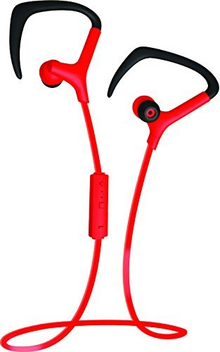 Coby Built-In Mic, Sweat Resistant, Tangle-Free Flat Cable H