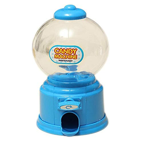 Money Boxes - Home Plastic Candy Machine Money Bank Gift Storage Box Presents Lover Blue - M&ms Multiple Pick Kids Screw Home Large Labels Activated Lock Shooter Flaps Quarter Business Book Mag ()
