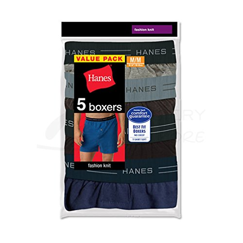 hanes-mens-classics-tagless-comfortsoft-knit-boxers-with-comfort-flex-waistband-5-pack709bp5-assorte