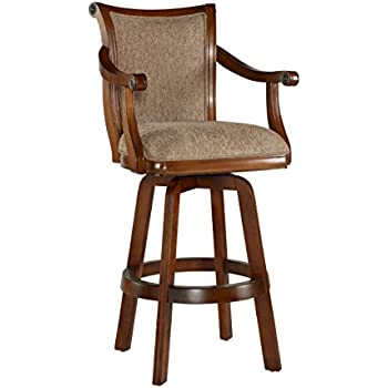 Amazon Com Powell Brandon Swivel Bar Stool Kitchen Amp Dining