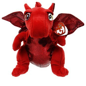 Ty Beanie Buddies - Fire The Red Dragon 6
