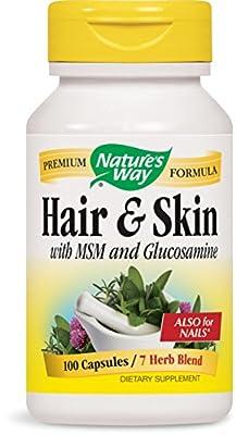 Nature's Way Hair and Skin, 100 Capsules
