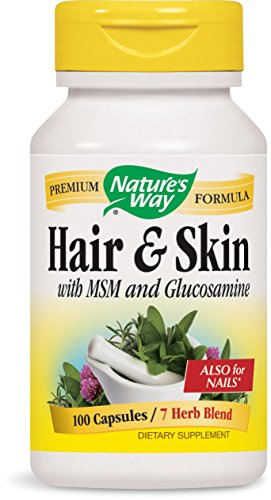 Nature's Way Hair and Skin, 100 Capsules -